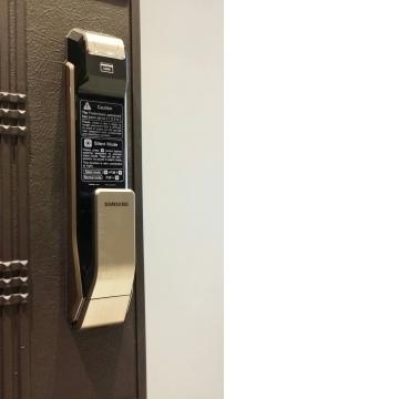 三星Samsung電子鎖SHS-P718四合一指紋門鎖