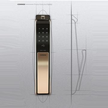 指紋鎖 康邁世COMMAX電子門鎖 型號CDL-811P 韓國門禁管制第一大廠 0800-000-420